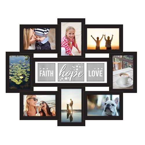 Malden 9 Opening Faith Hope Love Collage Frame