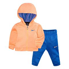 Baby Girl Nike Therma-FIT Hoodie & Pants Set