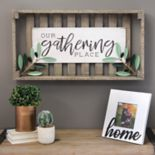 "Stratton Home Decor ""Gathering"" Farmhouse Wall Decor"
