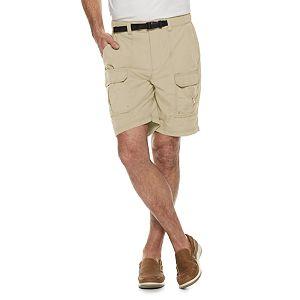 21902fba Men's Croft & Barrow® Classic-Fit Flex-Tab 7.5-inch Twill Cargo Shorts