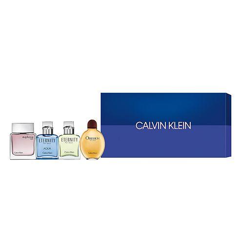 Calvin Klein Men's 4-pc. Mini Cologne Gift Set - Eau de Toilette