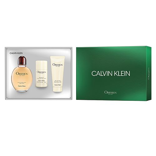 Calvin Klein Obsession for Men 3-pc. Men's Cologne Gift Set ($139 Value)