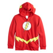 Boys 8-20 DC Comics The Flash Logo  Fleece Hoodie
