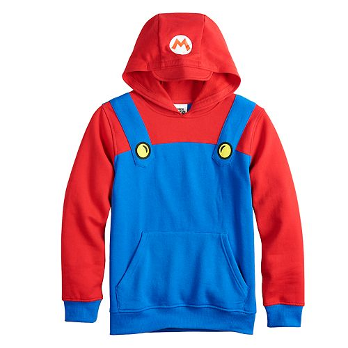 Boys 8-20 Super Mario Bros. Mario Fleece Hoodie