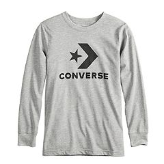 Boys 8-20 Converse Star Chevron Logo Long Sleeve Graphic Tee