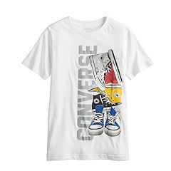 Boys 8-20 Converse Sneaker Pile Graphic Tee