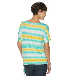 Women's Cathy Daniels Watercolor Striped Top