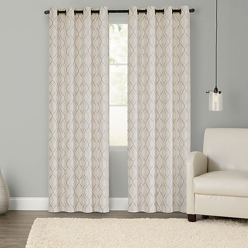 SONOMA Goods for Life™ 2-pack Hamilton Geo Blackout Window Curtain