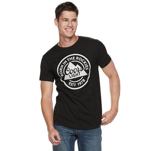 """Men's Coors """"Born In the Rockies"""" Tee"""