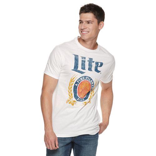 Men's Miller Lite Logo Tee