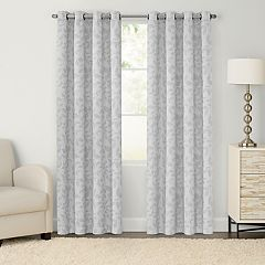 SONOMA Goods for Life™ 2-pack Jacquard Woven Leaf Blackout Window Curtain