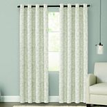 Sonoma Goods For Life? 2-pack Jacquard Woven Leaf Blackout Window Curtain