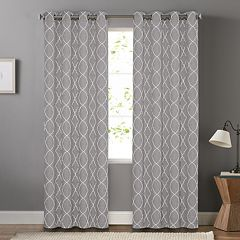 SONOMA Goods For LifeTM 2 Pack Embroidered Dynasty Blackout Window Curtain