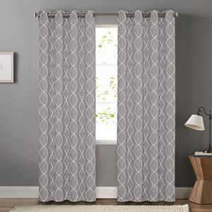 SONOMA Goods for Life® 2-pack Embroidered Dynasty Blackout Window Curtain