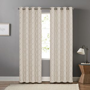 Sonoma Goods For Life? 2-pack Embroidered Dynasty Blackout Window Curtain
