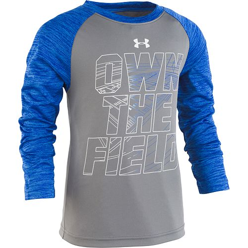"Boys 4-7 Under Armour ""Own The Field"" Raglan Tee"