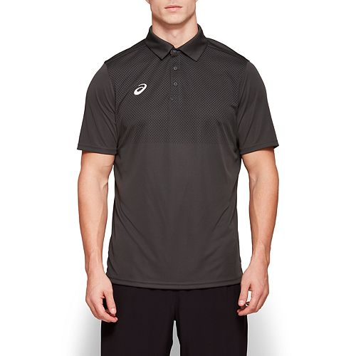 Men's ASICS Hex Print Performance Polo