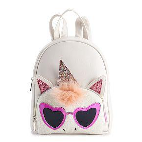 OMG Accessories Glittery Unicorn Mini Backpack