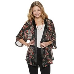 Mudd® Floral Print Kimono