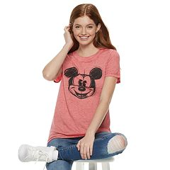 Disney's Mickey Mouse 90th Anniversary Juniors' Sketched Tee