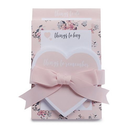 """LC Lauren Conrad 3-Pack """"Things to Remember"""" Sticky Notepad Set"""