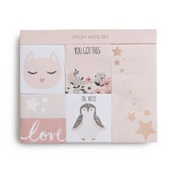 LC Lauren Conrad 6-Pack 'You Got This' Sticky Notepad Set