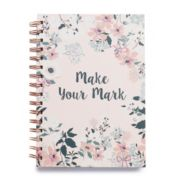 "LC Lauren Conrad ""Make Your Mark"" Floral Notebook"