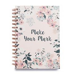 LC Lauren Conrad 'Make Your Mark' Floral Notebook