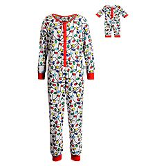 66d52f9b8 Girls Kids One-Piece Pajamas - Sleepwear