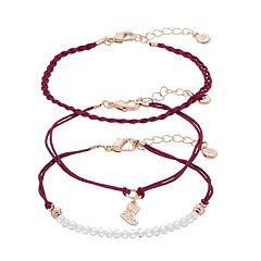 LC Lauren Conrad Holiday Stocking Bracelet Set
