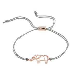 LC Lauren Conrad Elephant Adjustable Bracelet
