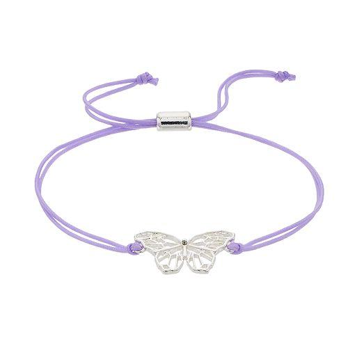 LC Lauren Conrad Butterfly Adjustable Bracelet