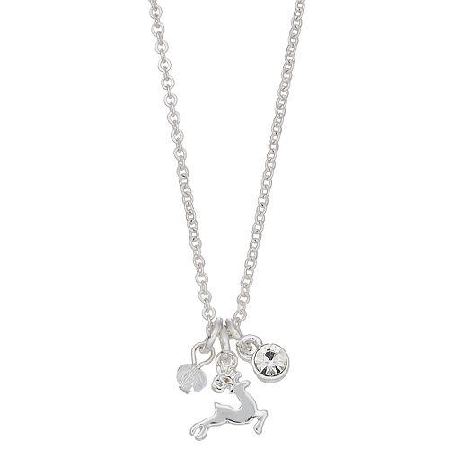 LC Lauren Conrad Reindeer Pendant Necklace
