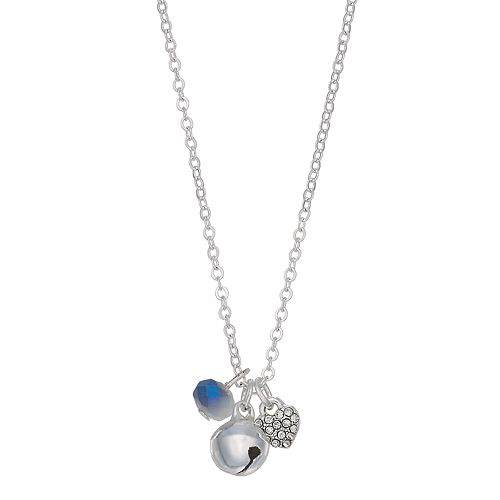 LC Lauren Conrad Bell Pendant Necklace
