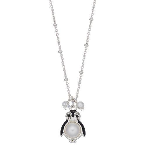 LC Lauren Conrad Penguin Pendant Necklace
