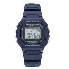 Casio Unisex Illuminator Digital Chronograph Watch - W218H-2AVOS