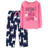Baby Girl Carter's Top & Microfleece Bottoms Pajama Set