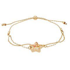 LC Lauren Conrad Star Charm Adjustable Bracelet