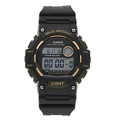 Casio Men's Mud Resistant Digital Chronograph Watch - TRT110H1A2OS