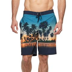 Big & Tall SONOMA Goods for Life™ Flexwear Swim Trunks