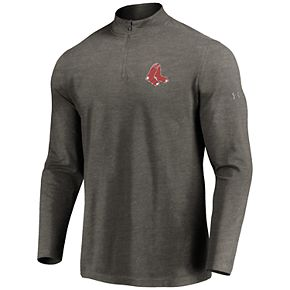 Men's Under Armour Boston Red Sox 1/4 Zip Pullover