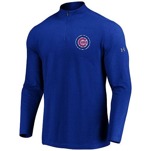 Men's Under Armour Chicago Cubs 1/4 Zip Pullover