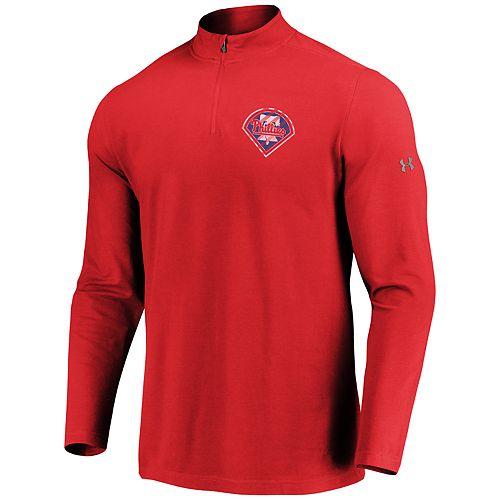 Men's Under Armour Philadelphia Phillies 1/4 Zip Pullover