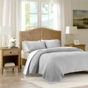 Madison Park Signature Valencia 3-piece Cotton Matelasse Coverlet Set