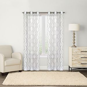 Sonoma Goods For Life? Sumner 2-pack Trellis Embroidery Window Curtains