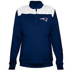 Plus Size New England Patriots Fleece Pullover