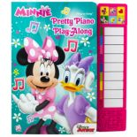 Disney's Minnie Pretty Piano Play-Along Book by PI Kids