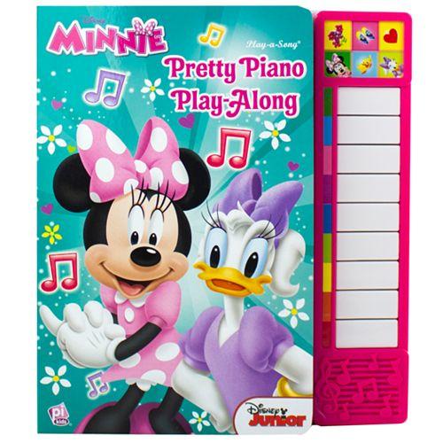 Disney's Minnie Pretty Piano Play-Along Book by PI Kids