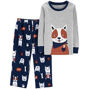 Toddler Boy Carter's Top & Microfleece Bottoms Pajamas Set