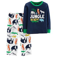 Toddler Boy Carter's Top & Microfleece Bottoms Pajamas Set